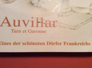 Auvillar war einst für seine Kalligrafien bekannt.