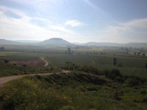 Der Hügel von Castrojeriz